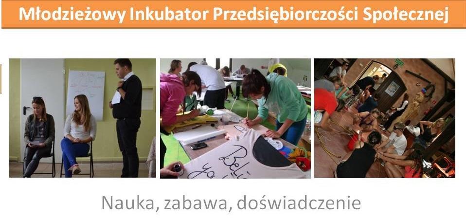 Młodzieżowy Inkubator Przedsiębiorczości Społecznej – galeria