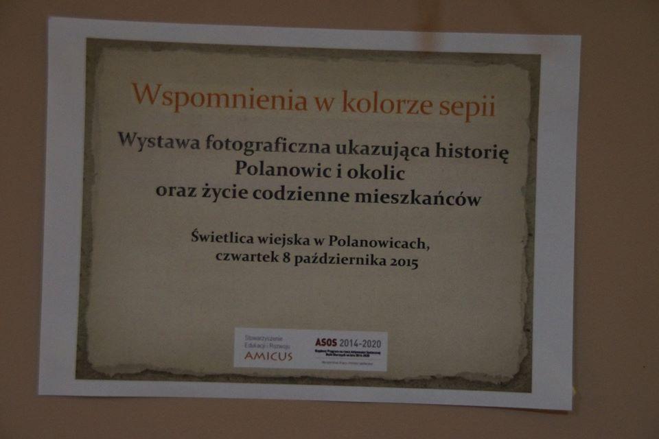 Wystawa fotograficzna w Polanowicach